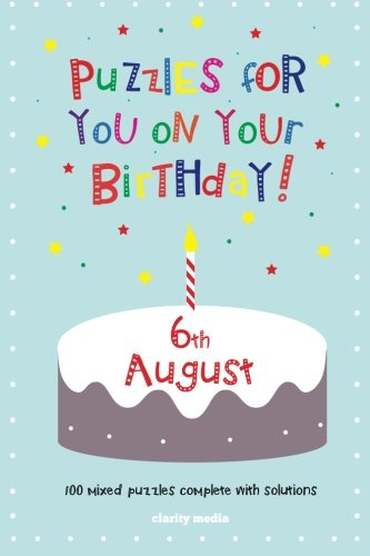 Download Puzzles for you on your Birthday - 6th August ebook