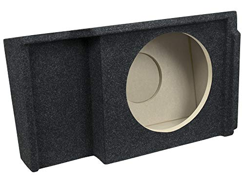 "Bbox A151-12CP Single 12"" Sealed Carpeted Subwoofer Enclosure - Fits 1999-2007 Chevrolet/GMC Silverado/Sierra Extended Cab"