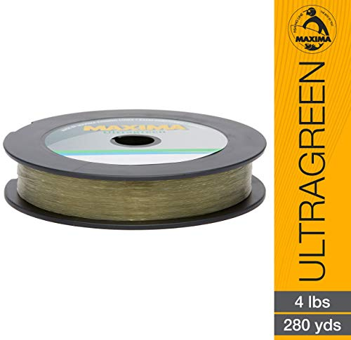 Maxima Fishing Line One Shot Spool, Ultragreen, 4-Pound/280-Yard ()