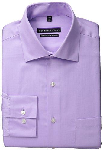"UPC 781910329374, Geoffrey Beene Men's Classic Fit Non-Iron Sateen Dress Shirt, Helios, 16"" Neck 32""-33"" Sleeve"
