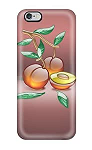 Hot New Premium Aqua Peach Skin Case Cover Excellent Fitted For Iphone 6 Plus