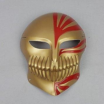ZRW bleach ichigo hueco máscara cosplay de oro: Amazon.es: Juguetes y juegos
