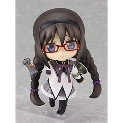 Good Smile Puella Magi Madoka Magica: Homura Akemi Nendoroid Action Figure: Toys & Games
