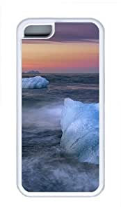 iPhone 5C Cases, iPhone 5C Case - Iceland Cool TPU Case Cover Protector For iPhone 5C - White by patoner
