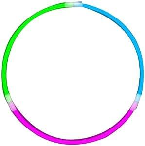 WeGlow International Tri-Color WeGlow Glow Necklaces - Blue/Green/Pink (50 pieces)