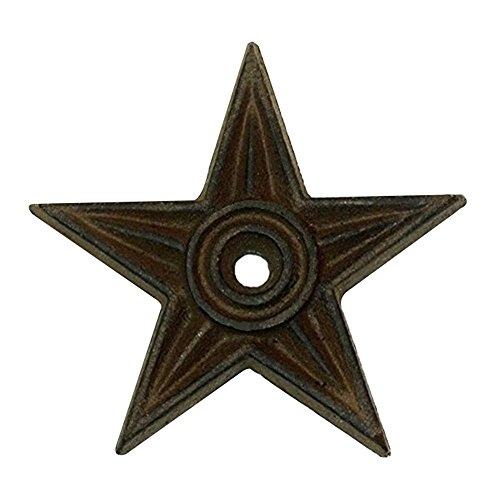rustic cast iron star - 7