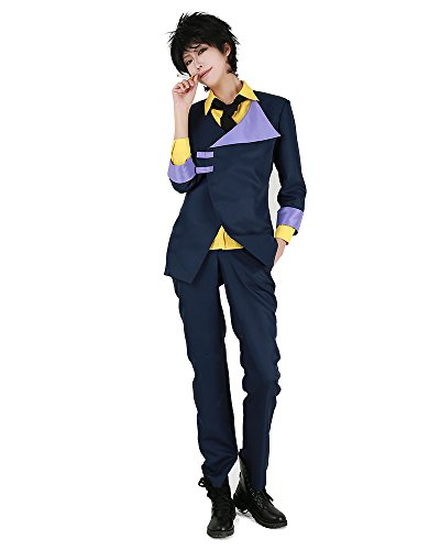 Miccostumes Men's Spike Spiegel Cosplay Costume (Men s)]()