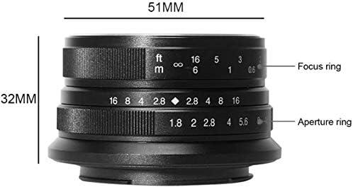 7artisans 25mm F1 8 Manuell Fokus Objektiv Für Kamera