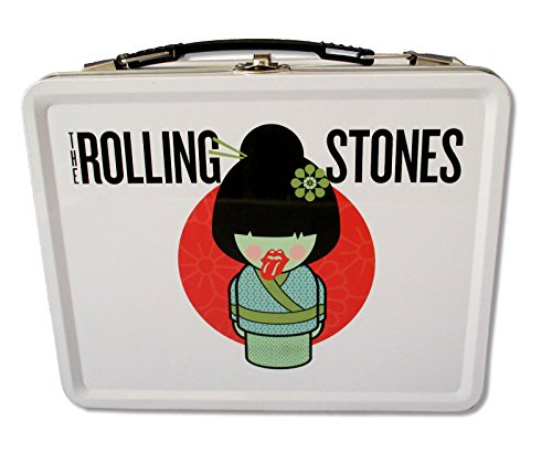 "The Rolling Stones ""Geisha"" White Tin Lunch Box"
