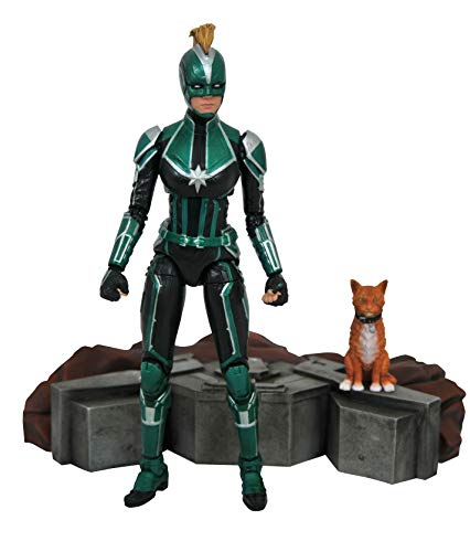 Marvel Select: Captain Marvel (Starforce Uniform Version) Action Figure ()
