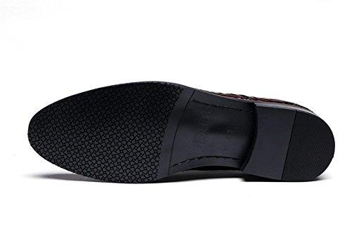Oxford Scarpe Attivit Inteligente Formale Uomini XIE Pelle Modello Coccodrillo UPwqH