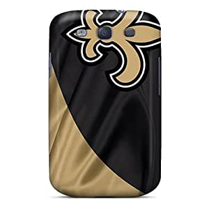 Slim Fit Tpu Protector Shock Absorbent Bumper New Orleans Saints Case For Galaxy S3
