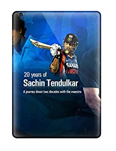 Tpu Case Cover Compatible For Ipad Air/ Hot Case/ 20 Years Of Sachin Tendulkar