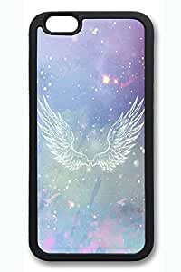 Angel Wings Slim Soft Cover for iPhone 6 Case (4.7 inch) TPU Black Cases