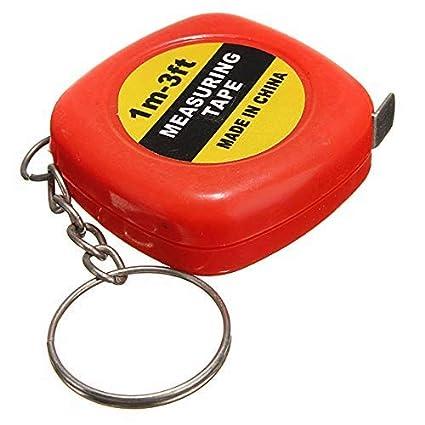 NPRC Mini Tape Measure Keychain Keyring Retractable 3 Ft Or