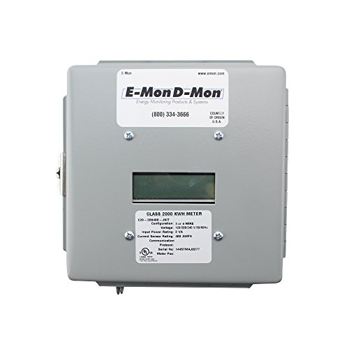E-Mon E20-208400-JKITElectric Submeter, Class 2000, 120/208-240V, 3-Phase