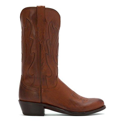 Lucchese Classics hombre cole-tan Ranch mano botas de equitación Tan