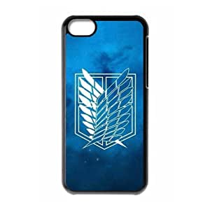 ATTACK ON TITAN theme pattern design For Apple iPhone 5C Phone Case