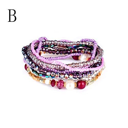 Botrong Fashion Personalized Bohemian Lady Bracelet Bangle