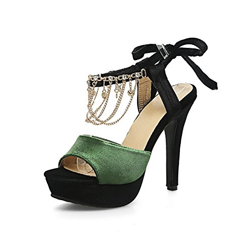 Femme Green Inconnu 1TO9 Ouvert Bout w4wRZqv