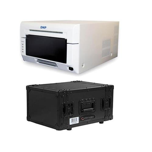 DNP DS620A Dye Sub Professional Photo Printer, Print Sizes: 2 x 6 to 6 x 8 - With Odyssey Innovative Designs Black Label Case
