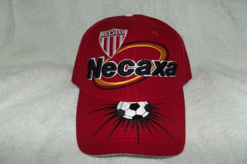 fan products of New! SOL Red Club Necaxa Rayos 3D Embroidered Adjustable Velcro Back Cap Soccer Hat