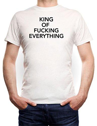 King Of Fucking Everything T-Shirt White
