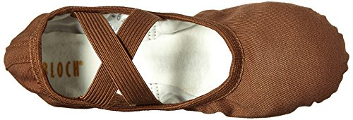 Ballet Shoes Performa Bloch Leather Cocoa Canvas Women's qn5IqwxCX8