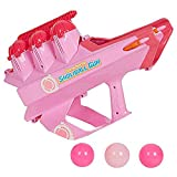 COLOR TREE Snowball Launcher Winter Sport Game Pink