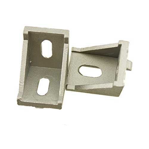 IZTOSS 3030 Corner Fitting Angle Bracket L Connector for 35mm Aluminum Extrusion Size 35x35x28mm Pack of 25