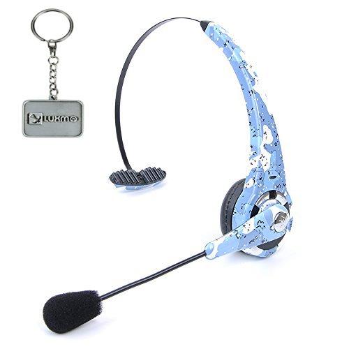 Sony Playstation Bluetooth Headset - LUXMO® Wireless Bluetooth 3.0 Gaming Headset Mic for Sony PS3 PlayStation 3 Wireless Camouflage (BTH-068)