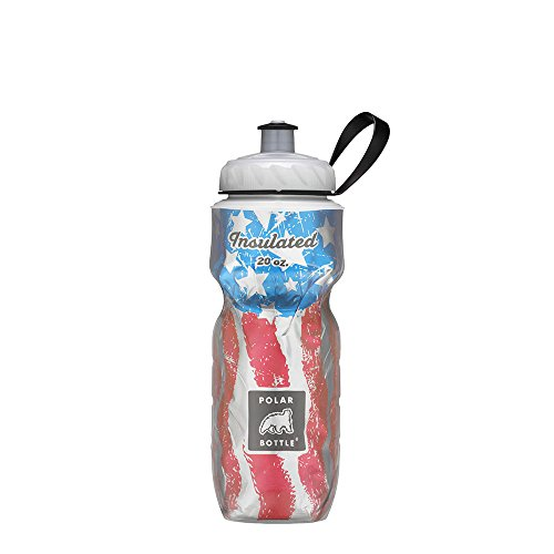Polar Bottle Insulated Water Bottle (24-Ounce) (Star Spangled) ()