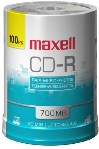 Maxell 648200 700Mb Cd-Recordable