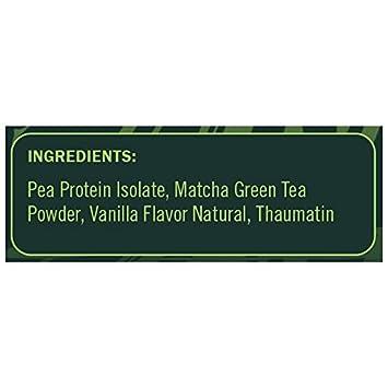 Nuzest Clean Lean Protein Functionals – Premium Vegan Protein Powder, European Golden Pea Protein, Dairy Free, Gluten Free, GMO Free, Naturally Sweetened, Vanilla Matcha, 20 SRV, 17.6 oz