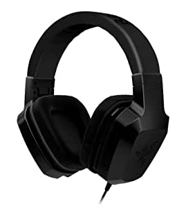 Razer Electra Over Ear PC and Music Headset - Black