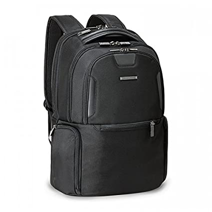 Briggs /& Riley Atwork Medium Multi Pocket Backpack Black One Size