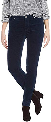 Buffalo Ladies Velvet Pant with Stretch (Navy, 6/28)