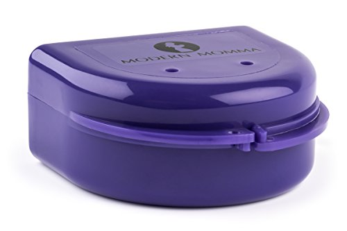 Best-selling Nipple Shield Carrying Case, Perfect Solution for Medela Shields and Similar Shields, By Modern Momma; Purple Pansy (Small Nipple)