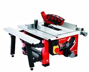 Einhell RT-TS 1221 Table saw - Sierra circular (1200W, 230-240V, 50 Hz, 45,5 cm, 58 cm, 34 cm)