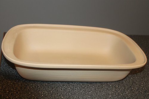 Pampered Chef Family Heritage Large (17 inch x 11 inch) Stoneware Rectangular Baker ~Classic Edition #010805