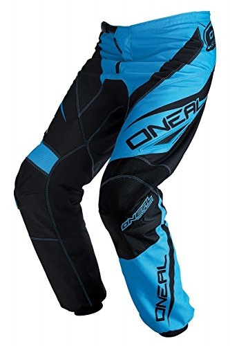 Discount Motorcycle Pants - O'Neal Racing Element Racewear Men's MX Motorcycle Pants - Black/Blue/Size 34