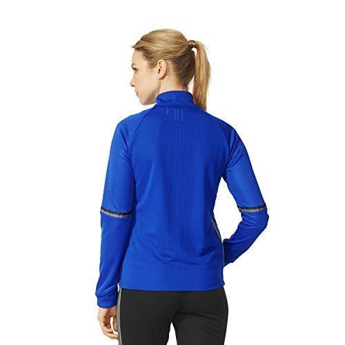(Adidas Condivo 16 Womens Training Jacket 2XL Bold Blue-Vista Grey)