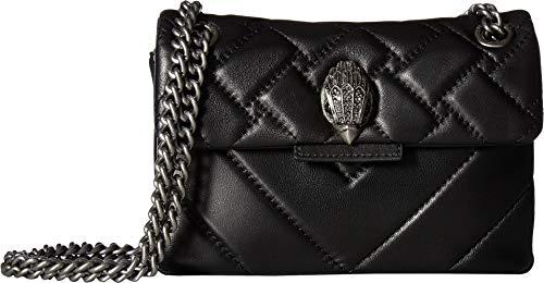 London Quilted Handbag - Kurt Geiger London Women's Leather Mini Kensington Crossbody Black One Size