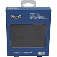 Dongcoh 2.5 External Hard Drive 160gb with USB3.0 Data Storage External HDD for Notebook/Desktop/Xbox One