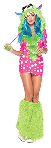 Melody Monster Costume - Medium/Large - Dress Size (Sexy Melody Monster Costumes)