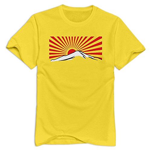 men-mt-fuji-with-rising-sun-japan-100-cotton-t-shirt-yellow-size-xl