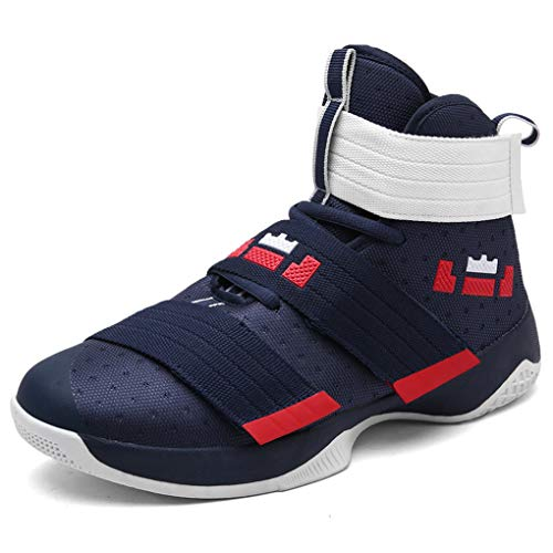 Teresae New Men Basketball Shoes Men Sneakers Breathable Outdoor Athletic Sport Shoes Mens Trainers Ankle Boots