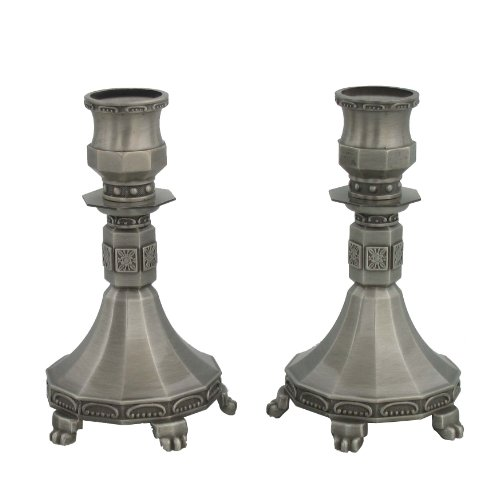 Price comparison product image Pewter CandleStick Set