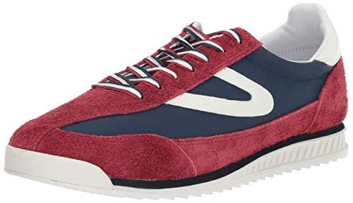 Tretorn Men's Rawlins2 Sneaker, Dark red, 9.5 M US