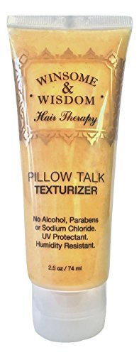 - Pillow Talk- Hair Texturizer Pomade for Hair 2.5 Oz. Winsome & Wisdom-Alcohol Free -Paraben Free-Sodium Chloride Free - UV Protectant-Humidity Resistant Pomade for Men-Cruelty Free Hair Products by Winsome & Wisdom